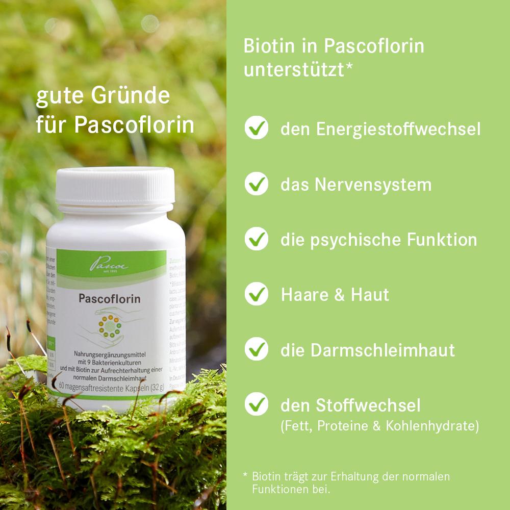 与B族维生素一起支持免疫系统(维生素B12和叶酸)*和生物素维持正常肠粘膜**