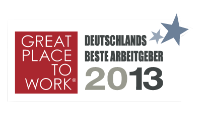 2013年德国最佳雇主——工作的好地方。